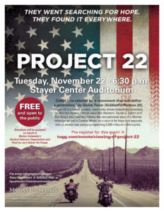 Project 22 Flyer 11-16
