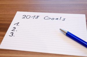 2018 resolutions list