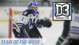 Hockey player Strainis Player of the week