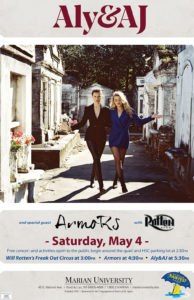 Aly and AJ poster