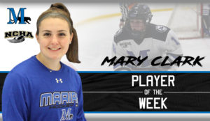 Mary Clark Player of the Week