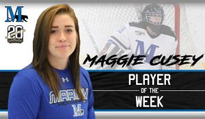 Player of the Week Maggie Cusey