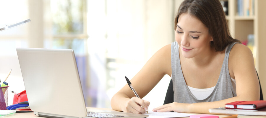 Adult learners succeed with Marian University's MPath online learning program.