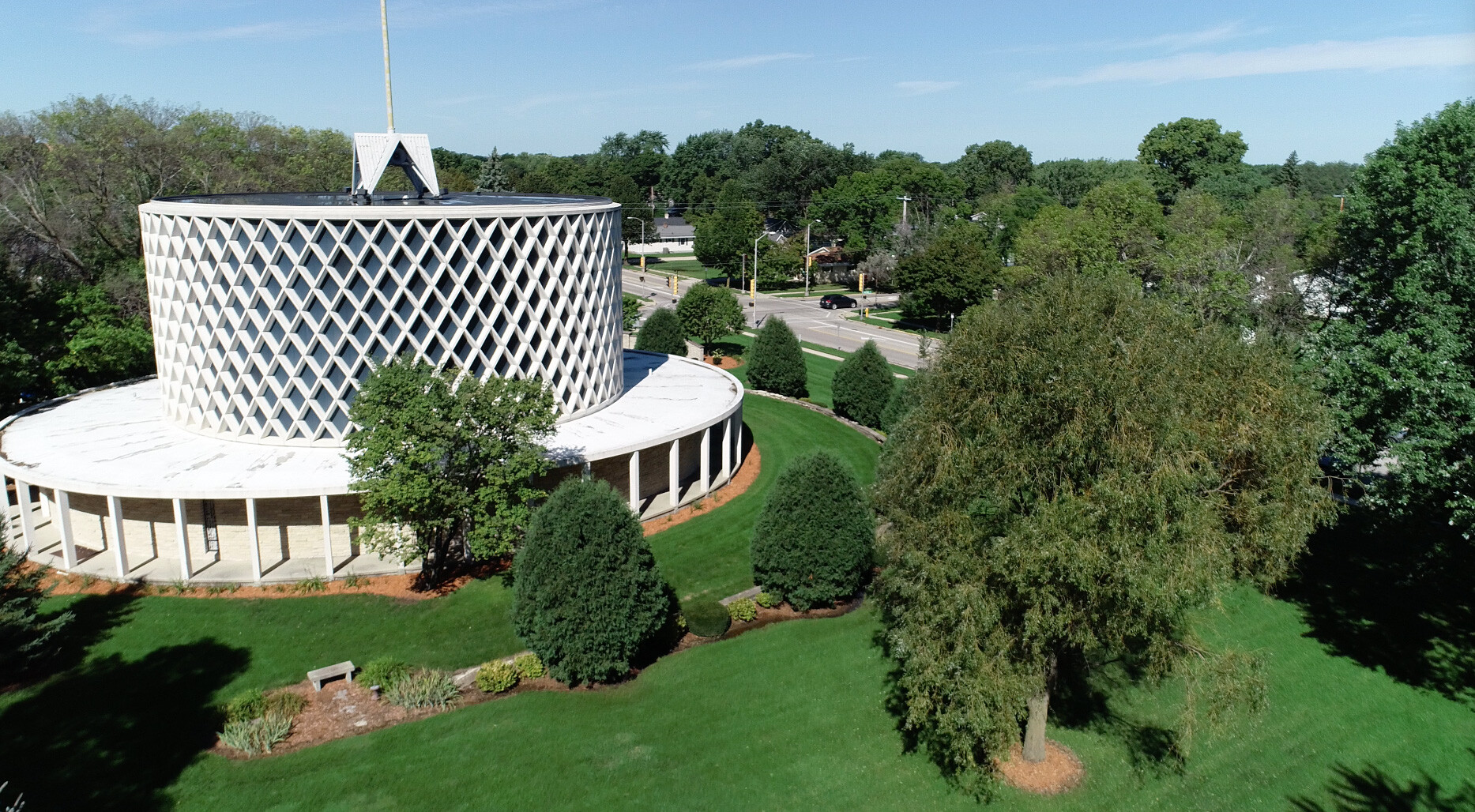 Marian University campus. Apply to Marian University for a high-quality education at an affordable cost.