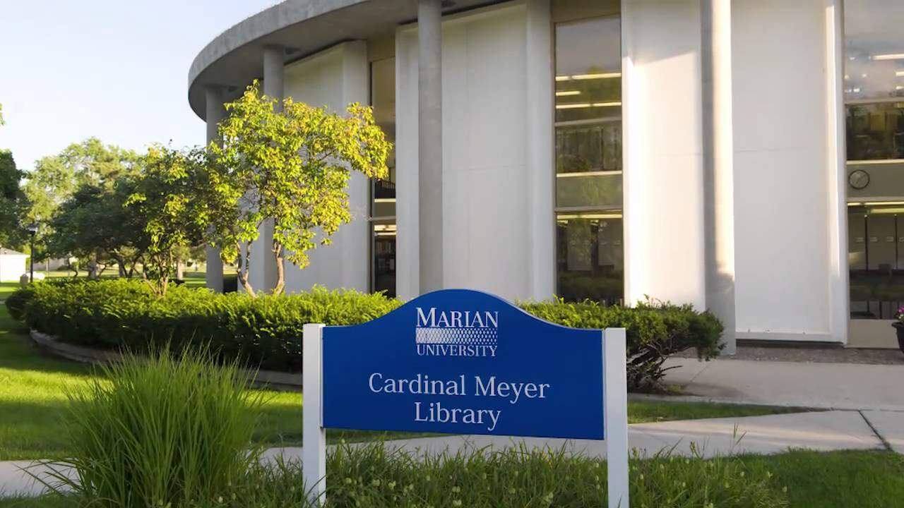 Cardinal Meyer Library. Apply to Marian University and receive world class student resources.